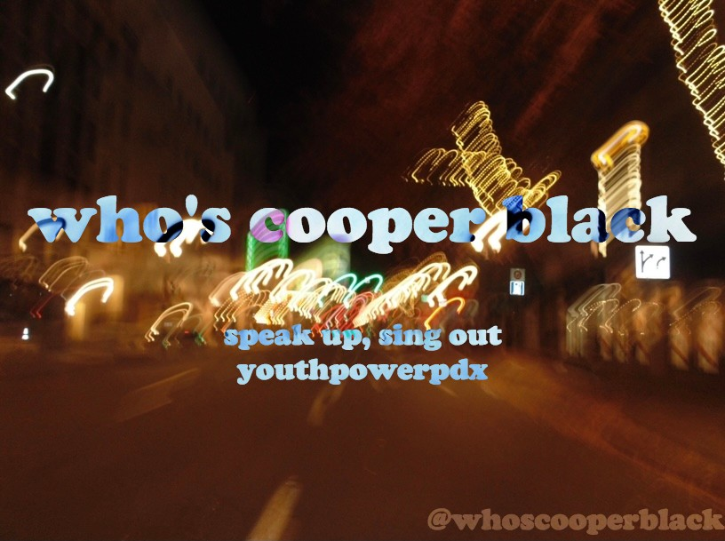 Who's Cooper Black